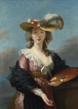 Elisabeth-Louise Vigée-Lebrun;  Self Portrait in a Straw Hat;  after 1782; National Gallery, London.